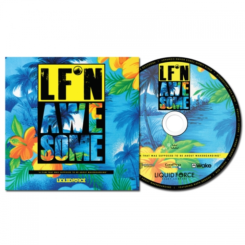LF'N AWESOME dvd