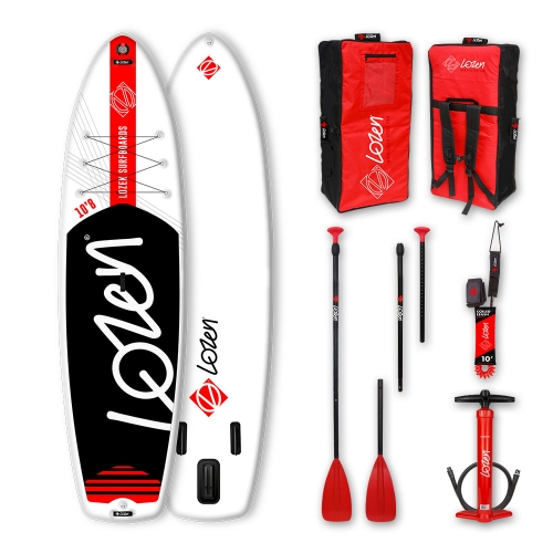 RED LINE WIDE stand up paddleboard package