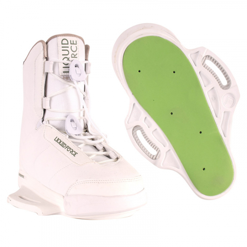 HITCH WHITE wakeboard binding