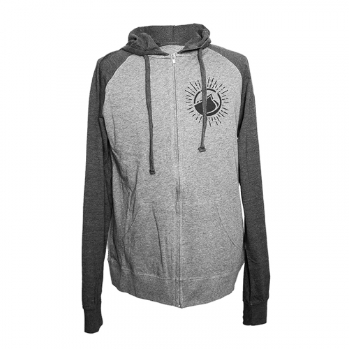 ABANDON ZIP LS hoodie