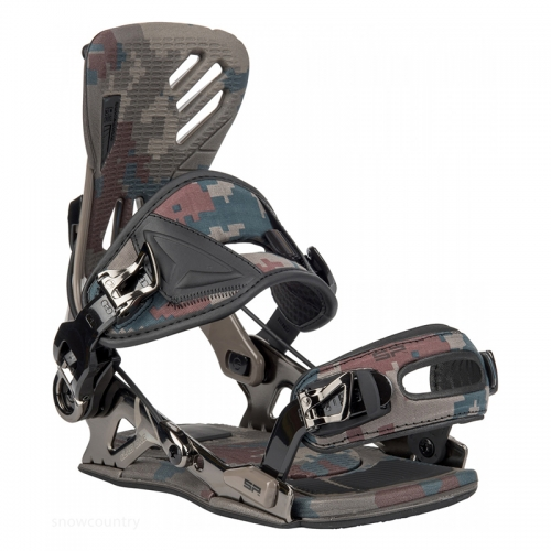 FASTEC sLAB ONE snowboard binding