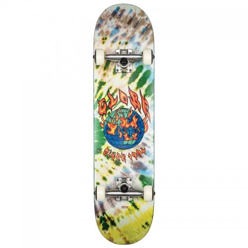 ABLAZE TIE DYE skateboard