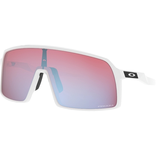 SUTRO Polished wht/Prizm snow saph. sunglasses