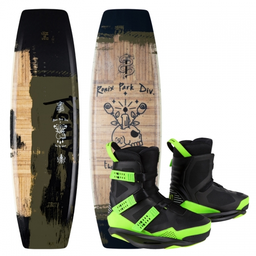 2021 TOP NOTCH PRO 143 / SUPREME wakeboard package